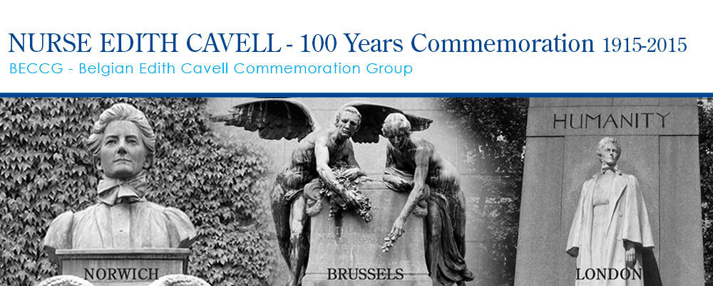 Edith Cavell-100 Years Commemoration Brussels