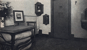 Edith Cavell's cell, St Gilles prison