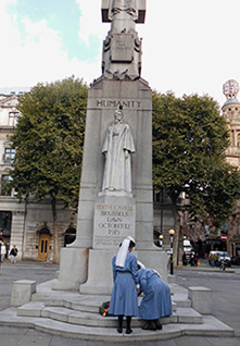 Statue d'Edith Cavell, Londres