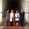 Christine Defraigne, Princess Astrid, Princess Anne, Timothy Laurence